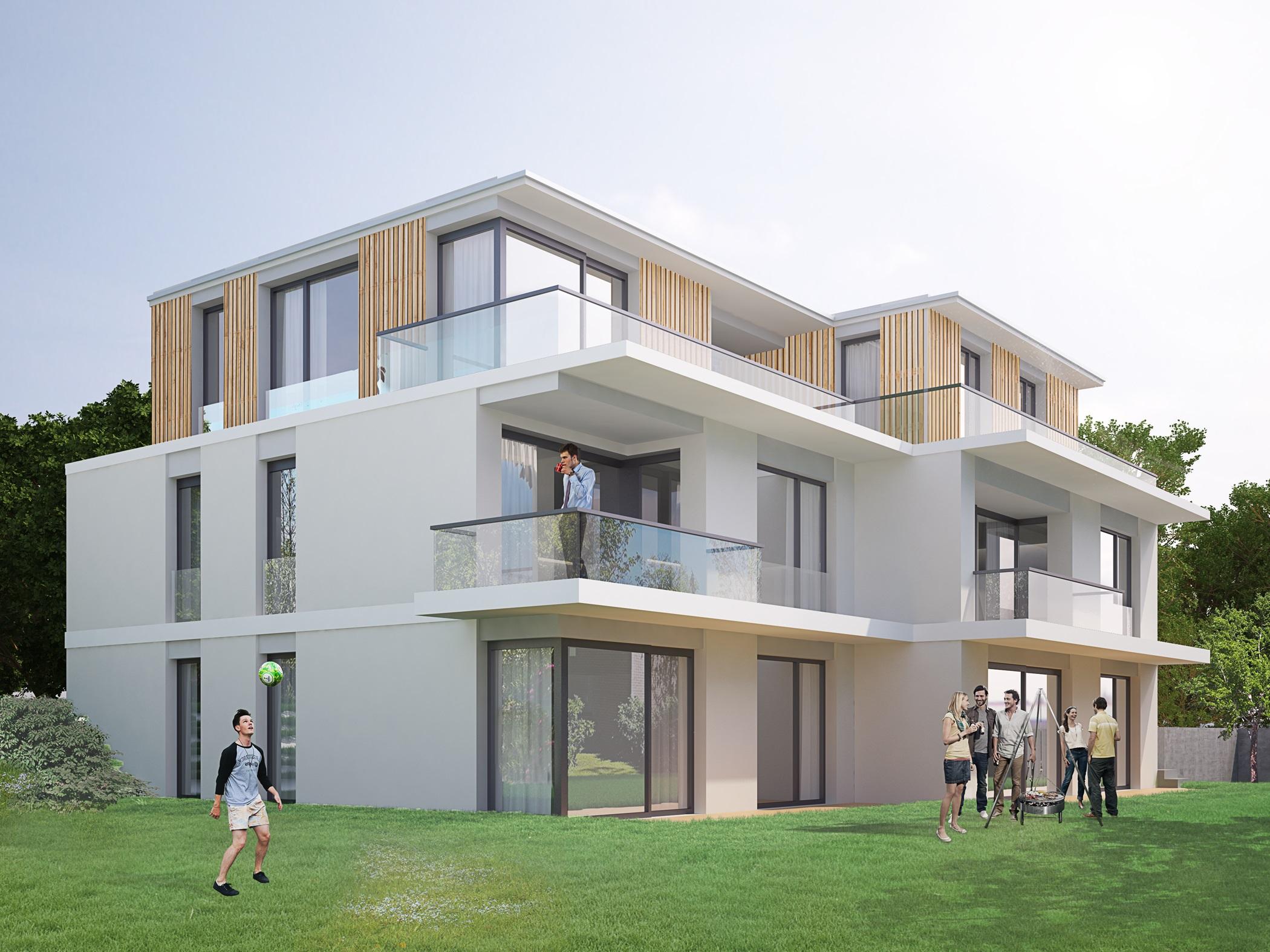 mehrfamilienhaus dortmund holzen zed baugesellschaft mbh. Black Bedroom Furniture Sets. Home Design Ideas